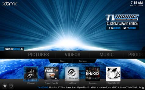 XBMC / Kodi / Free TV / Free Sports / Best android apps