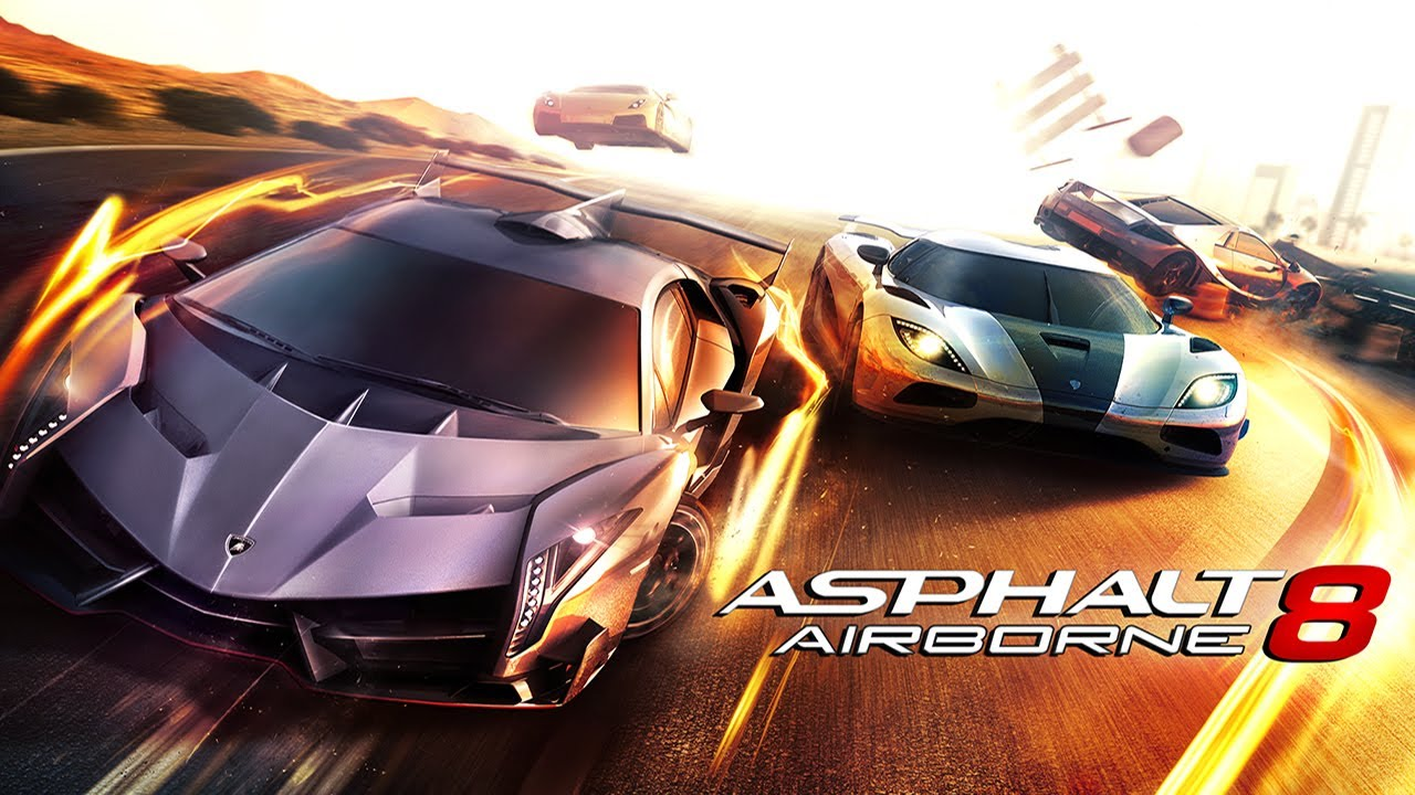 Game Review - Asphalt 8 - Airborne