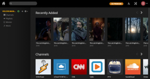 Plex Media Server - Personal media storage available everywhere