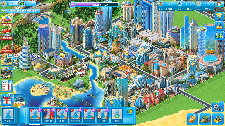 Android Best Apps - Game Reciew Megapolis - Megapolis City