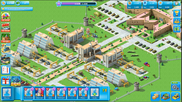 Android Best Apps - Game Reciew Megapolis - Megapolis Military Base