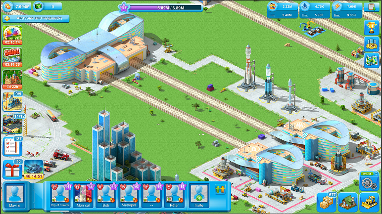 Best Android Apps - Game Review Megapolis - Megapolis Space Port